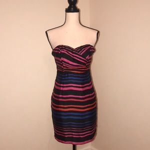 Sleeveless Silky Dress by H&M. Size 6. Multi color